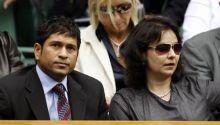 Sachin Tendulkar and his wife Anjali