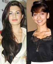 Jacqueline Fernandez and Anushka Dhandekar