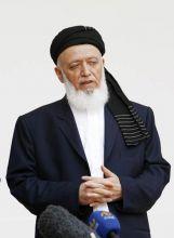 Afganistan High Peace Council chairman Professor Burhanuddin Rabbani in New Delhi