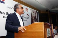 Aroon Purie, Chief Executive of the India Today Group