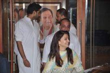 Abhishek Bachchan, Aishwarya Rai Bachchan and Sanjay Dutt