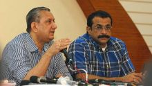 Rakesh Maria and Himanshu Roy