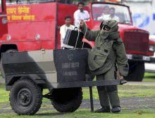 A member of bomb disposal squad