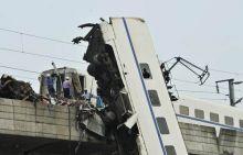 China train mishap