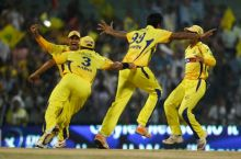 The Chennai Super Kings team