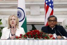 Hillary Clinton, SM Krishna