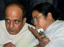 Mamata Banerjee with Dinesh Trivedi