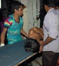Injured at the hospital