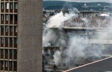 Oslo explosion site