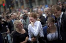 Victims' kin in Norway