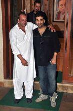 Sanjay Dutt and Karan Johar