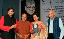 Shashi Tharoor, Sharmila Tagore and M J Akbar