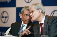 Y. M. Deosthalee and Nimesh Kampani of JM Financial Group