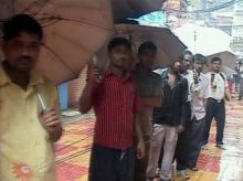 People at Zaveri Bazar