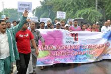 Social and human rights groups gave a call for a Jaipur bandh