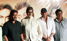 Amitabh Bachchan, Sanjay Dutt and Ajay Devgn