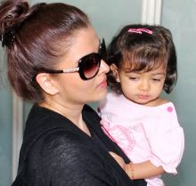 Aishwarya with daughter Aaradhya