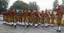 Final rehearsal of Independence Day celebrations in Bhopal