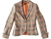 Formal check jacket from UCB