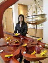 Spa manager Sweta Tyagi at Club Prana