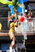Dahi Handi celebrations in Mumbai