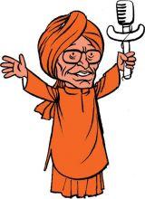 Swami Agnivesh caricature