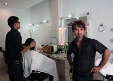 Hair treatment manager, Imran at Hair Design