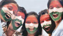 Kids celebrating Independence Day