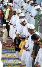 People pray