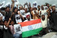 Anna Hazare supporters in Jammu