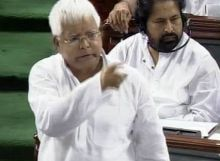 Rashtriya Janata Dal (RJD) leader Lalu Prasad Yadav