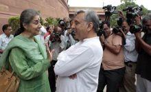 Ambika Soni and Mani Shankar Aiyar