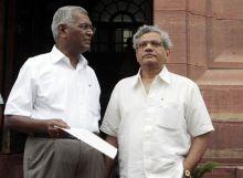 D Raja and Sitaram Yechuri