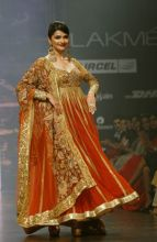 Prachi Desai walks the ramp for designer Neeta Lulla