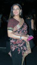 Shabana Azmi at designer Neeta Lulla's show