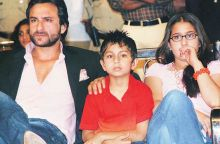 Saif Ali Khan with son Ibrahim