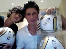 Shah Rukh Khan with son Aryan