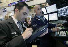 Investors at the Wall Street