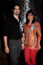 Adam Bedi with Nisha Harale