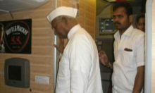 Anna Hazare in Ralegan Siddhi