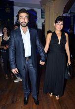 Ashish Chaudhary with wife Shamit Bangargi