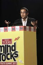 Chetan Bhagat at Mind Rocks