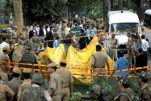 Delhi HC blast site