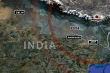 Earthquake in north and east India