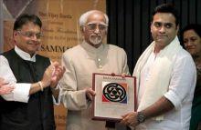 Hamid Ansari and B Manjunath Kamath