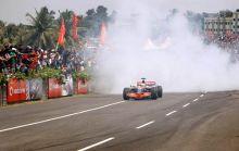 McLaren F1 driver Lewis Hamilton