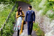 Shahid Kapoor and Sonam Kapoor in Mausam