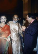 Mansur Ali Khan Pataudi with wife Sharmila Tagore