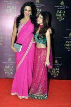 Pooja bedi with daughter Aliya