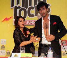 Koel Purie and Ranbir Kapoor